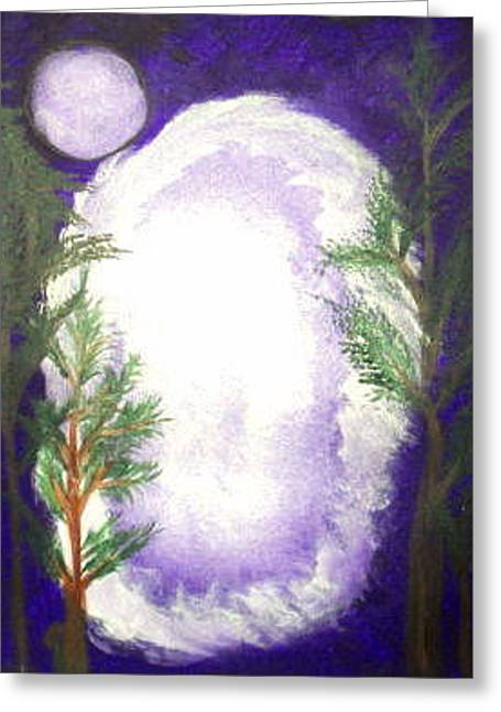 Vodou Paintings Greeting Cards - Spirit Portal Greeting Card by Dayila Divine