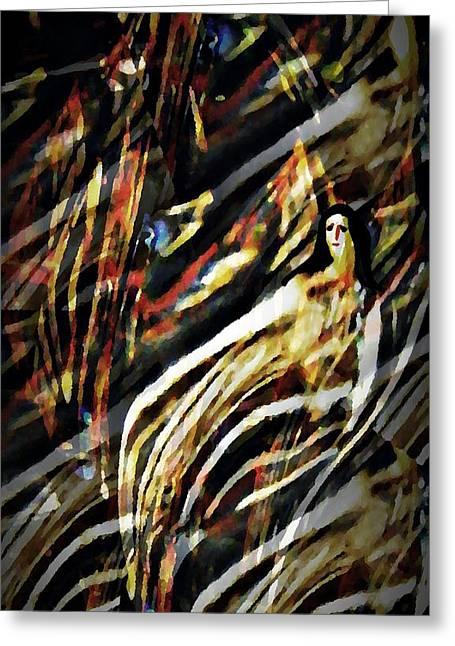 Spirit Rising Greeting Cards - Spirit Rising Greeting Card by Sarah Loft