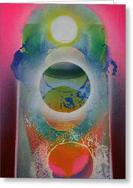 Recently Sold -  - Jeremy Greeting Cards - Spiritscape Greeting Card by Jeremy Johnson