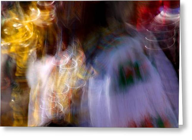 Spirits 2 Greeting Card by Joe Kozlowski
