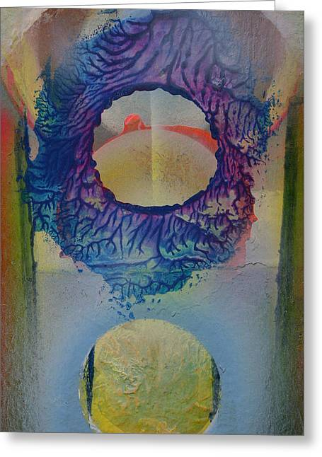 Recently Sold -  - Jeremy Greeting Cards - Spiritscapes Greeting Card by Jeremy Johnson