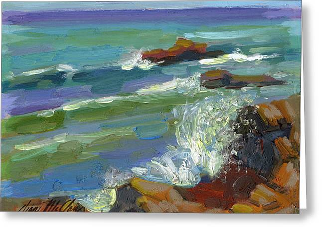Baja California Greeting Cards - Splash 1 Greeting Card by Diane McClary