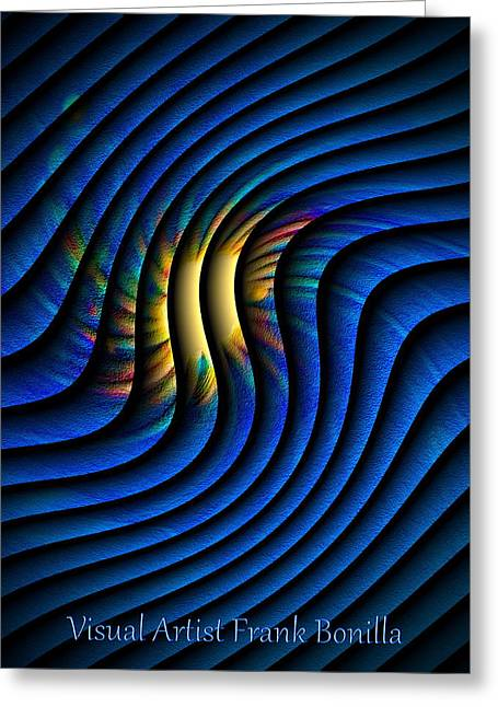 Visual Artist Frank Bonilla Greeting Cards - Splash Of Color Greeting Card by Visual Artist  Frank Bonilla
