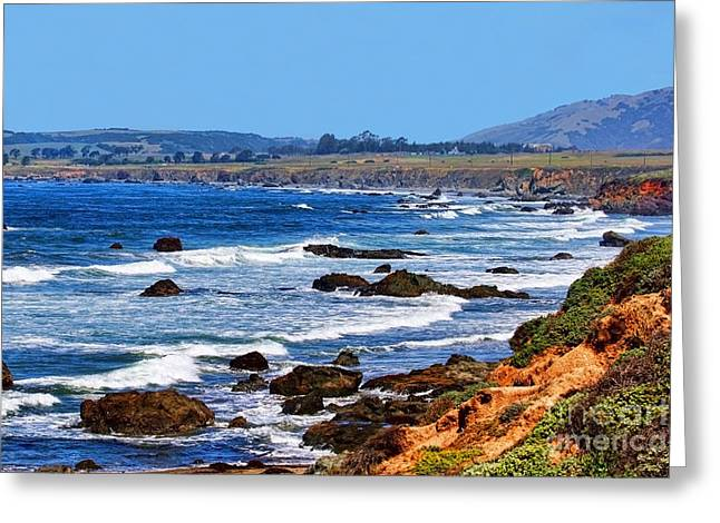 Pch Greeting Cards - Splendid Day in Big Sur by Diana Sainz Greeting Card by Diana Sainz