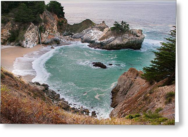 Pfeiffer Beach Greeting Cards - Splendor of Pfeiffer Beach Greeting Card by Kent Sorensen