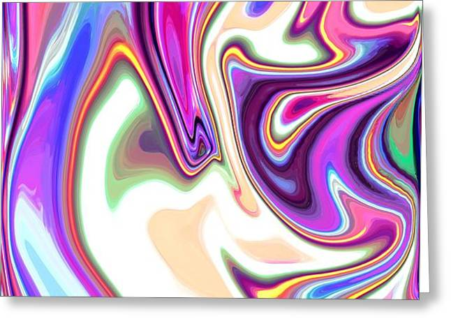 Split Personality Greeting Card by Chris Butler
