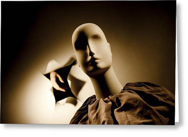 Split Personality Greeting Cards - Split Personality Greeting Card by Richard ONeil
