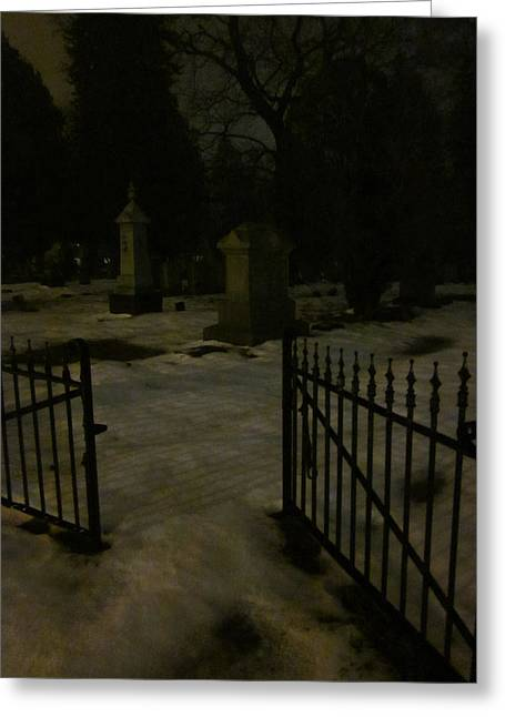 Guy Ricketts Photography Greeting Cards - Spoils Of The Dead Greeting Card by Guy Ricketts