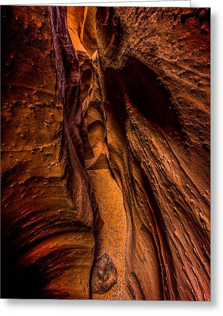 Escalante National Monument Greeting Cards - Spooky Colors Greeting Card by Chad Dutson