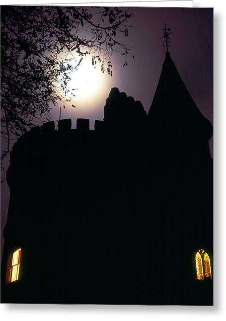Strawberry Hill Greeting Cards - Spooky Gothic Tower Greeting Card by John Topman