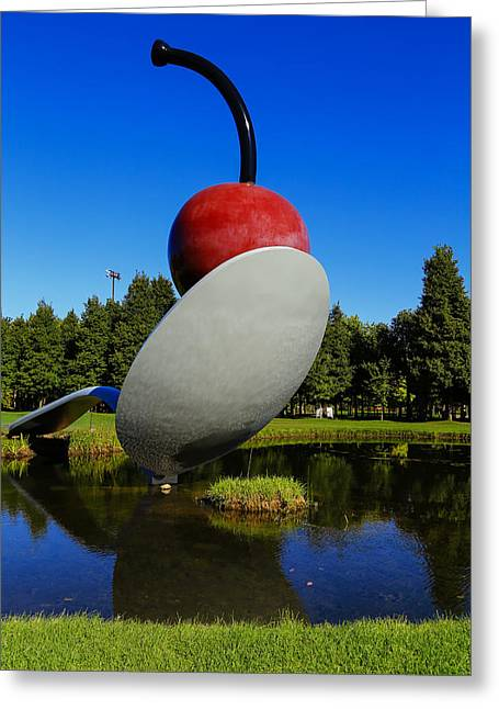 Oldenburg Greeting Cards - Spoonbridge and Cherry Greeting Card by Rachel Cohen