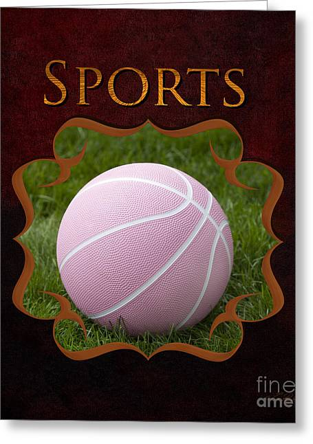 Childrens Sports Greeting Cards - Sports Gallery Greeting Card by Iris Richardson