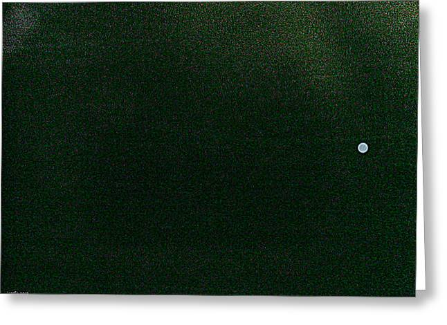 spot or moon two Greeting Card by Sir Josef  Putsche Social Critic