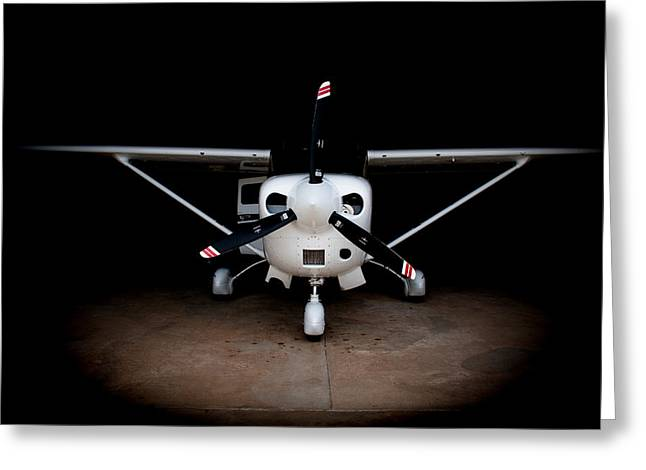 Cessna Greeting Cards - Spotlight on You Greeting Card by Paul Job
