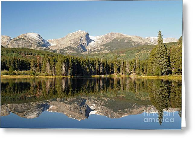 Sprague Greeting Cards - Sprague Lake in Rocky Mountain National Park Greeting Card by Alex Cassels