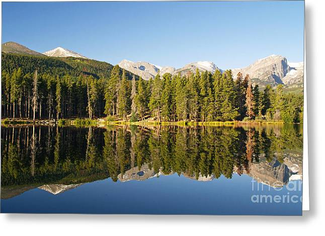 Sprague Greeting Cards - Sprague Lake Reflections Greeting Card by Alex Cassels