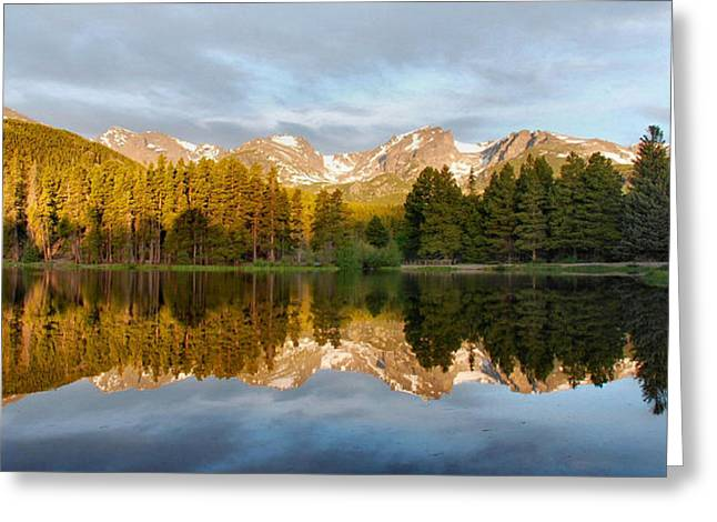 Sprague Greeting Cards - Sprague Lake Reflections Greeting Card by Stephen  Vecchiotti