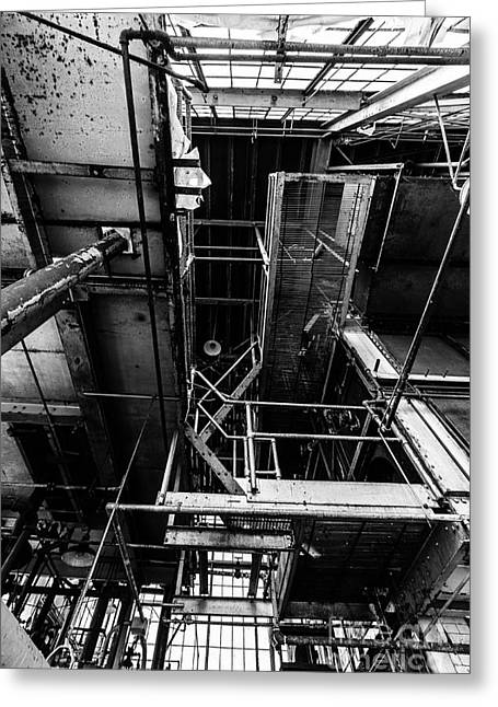 Smelter Greeting Cards - Sprawling Endless Greeting Card by CM Goodenbury