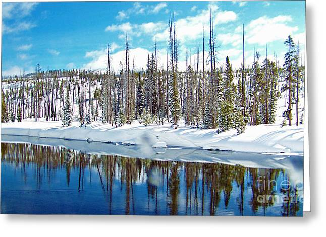 March Greeting Cards - Spring Afternoon in Wyoming Greeting Card by Helene Guertin