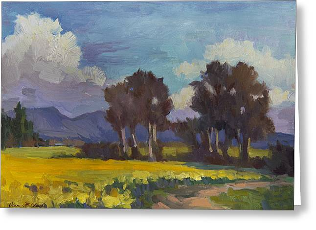 High Desert Greeting Cards - Spring and Daffodils Greeting Card by Diane McClary