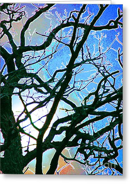 First Star Art Mixed Media Greeting Cards - Spring Approaches Greeting Card by First Star Art