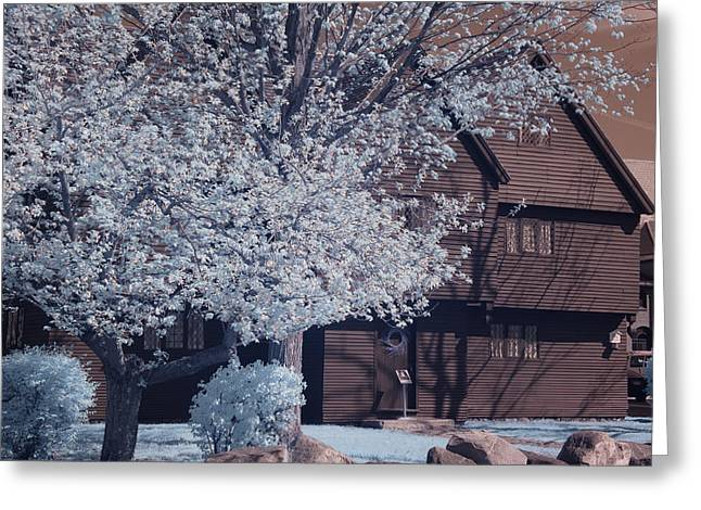 Trial Digital Art Greeting Cards - Spring arrive at the Witch house Greeting Card by Jeff Folger