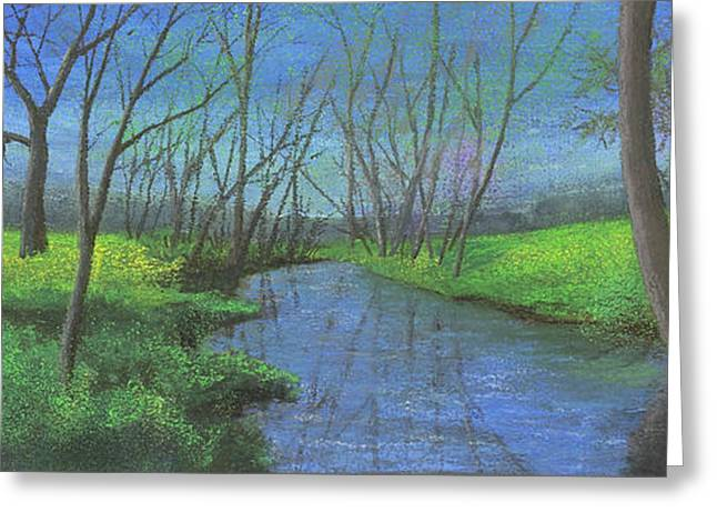 Spring Pastels Greeting Cards - Spring Awakening II Greeting Card by Garry McMichael