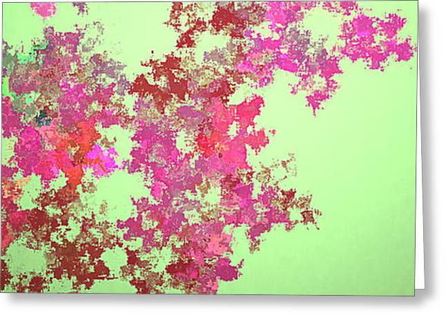 Spring Bouquet  Greeting Card by Tatjana Popovska