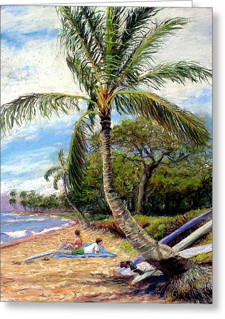Pacific Ocean Prints Greeting Cards - Spring Break Greeting Card by Mary Giacomini