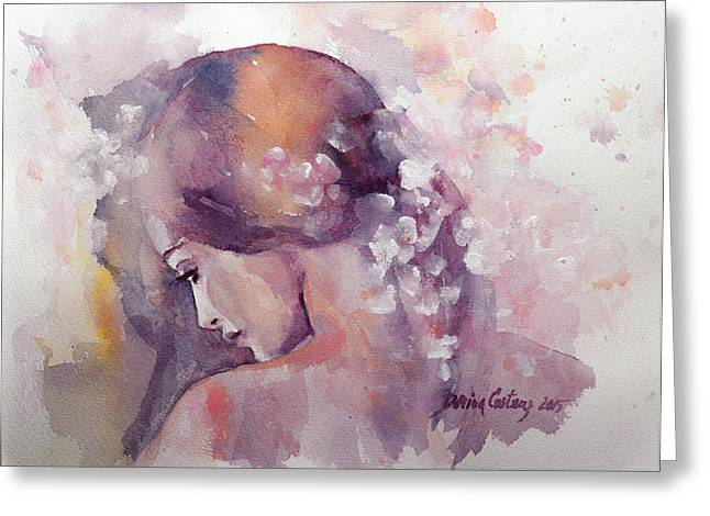 Emotions Greeting Cards - Spring Greeting Card by Dorina  Costras