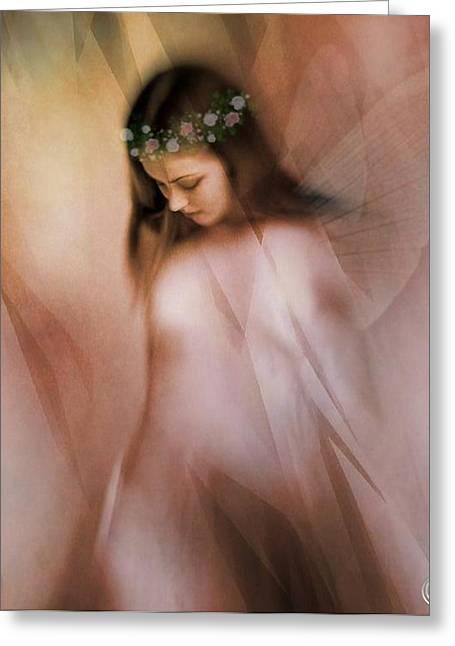 Spring Fairy Greeting Card by Gun Legler