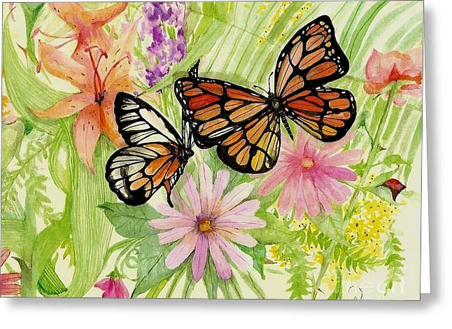 Laneea Tolley Greeting Cards - Spring Fancy Greeting Card by Laneea Tolley