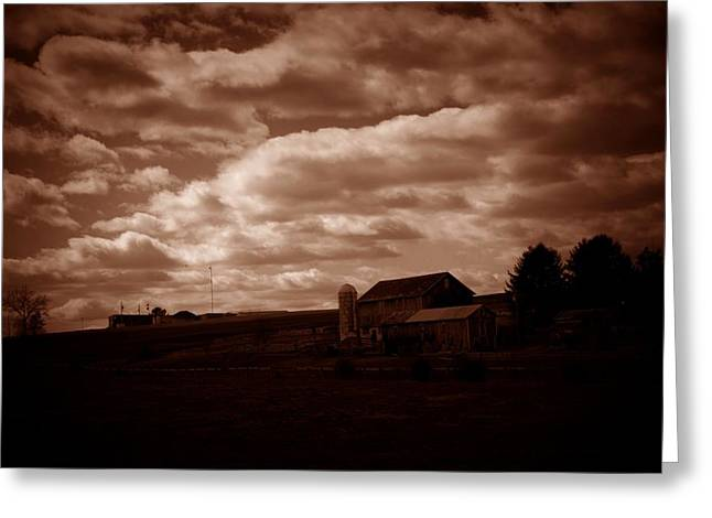 Jahred Allen Photography Greeting Cards - Spring Farm Greeting Card by Jahred Allen