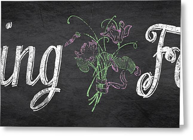 Strawberry Art Greeting Cards - Spring Fever-Flowers Greeting Card by Jean Plout