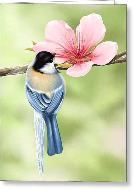 Digital Finger Greeting Cards - Spring fever Greeting Card by Veronica Minozzi