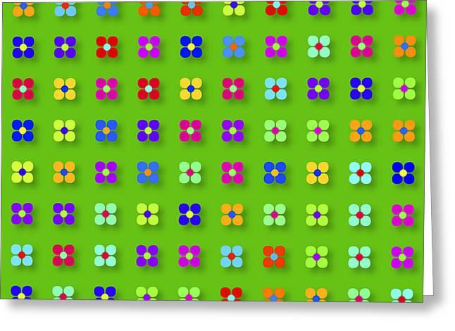 Renewing Greeting Cards - Spring Flower Panel Greeting Card by Daniel Hagerman