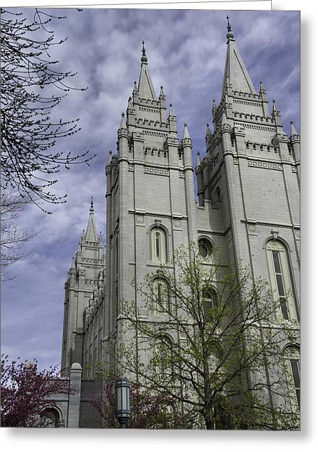 Salt Lake City - Utah Greeting Cards - Spring Has Sprung Greeting Card by Chad Dutson