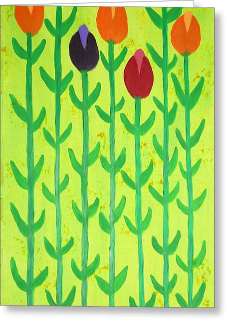 Florida Flowers Mixed Media Greeting Cards - Spring Has Sprung Greeting Card by Deborah Boyd
