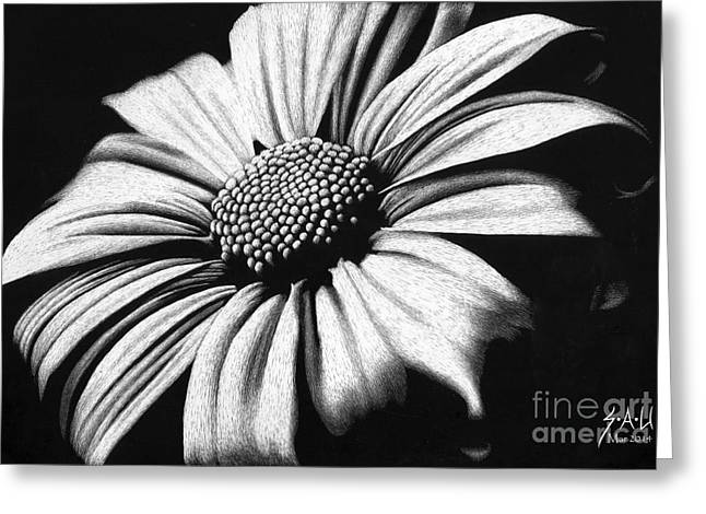 Photo-realism Greeting Cards - Spring has Sprung Greeting Card by Sheryl Unwin