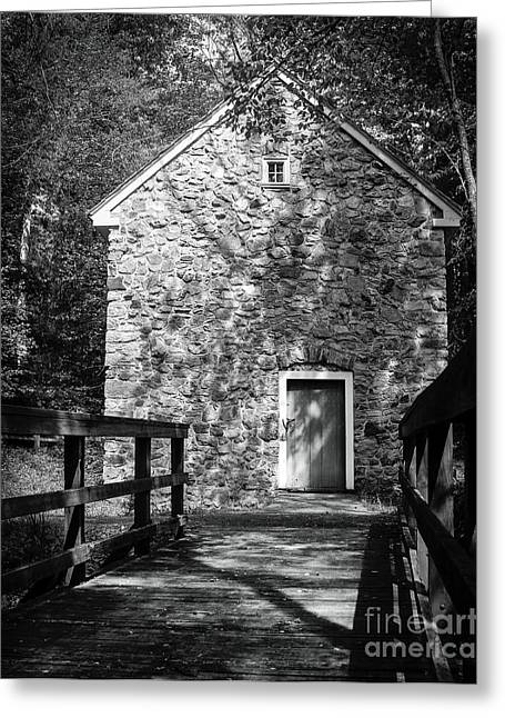 Charlotte Museums Greeting Cards - Spring House Elevation Greeting Card by Robert Yaeger