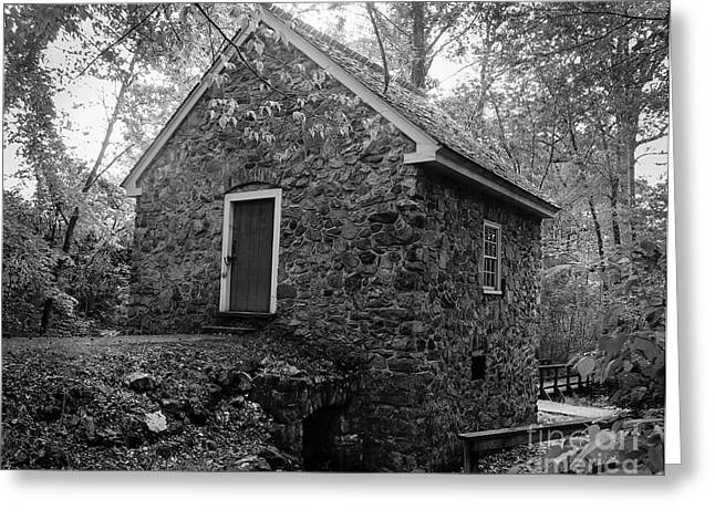 Charlotte Museums Greeting Cards - Spring House   Greeting Card by Robert Yaeger