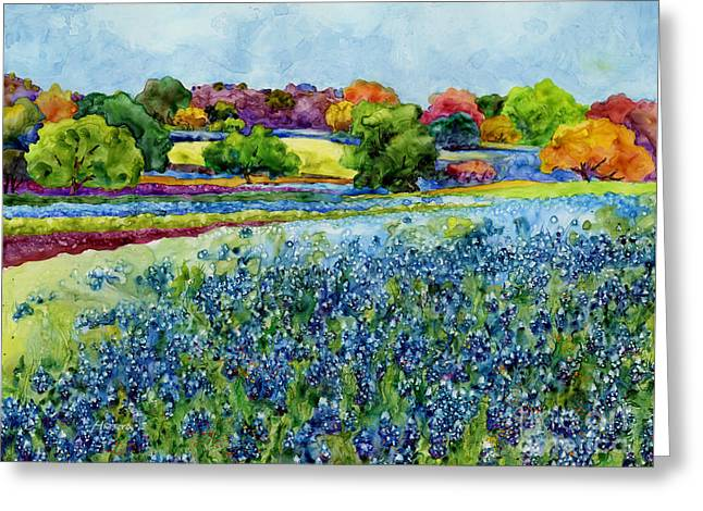 State Flowers Greeting Cards - Spring Impressions Greeting Card by Hailey E Herrera