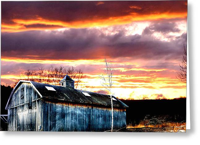 Spring in New England Greeting Card by Fred LaPoint