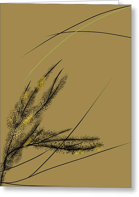 Walk Paths Mixed Media Greeting Cards - Spring  Greeting Card by Len YewHeng