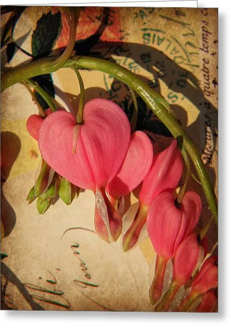 Bleeding Kansas Greeting Cards - Spring Love Greeting Card by Chris Berry