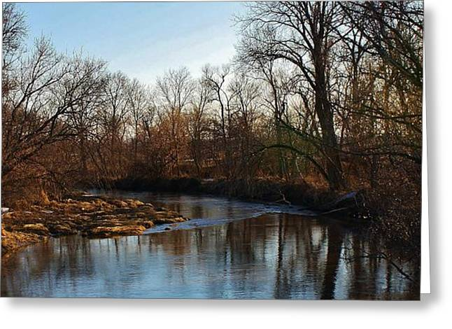 Galt Greeting Cards - Spring on the Elkhorn Creek Greeting Card by Bruce Bley