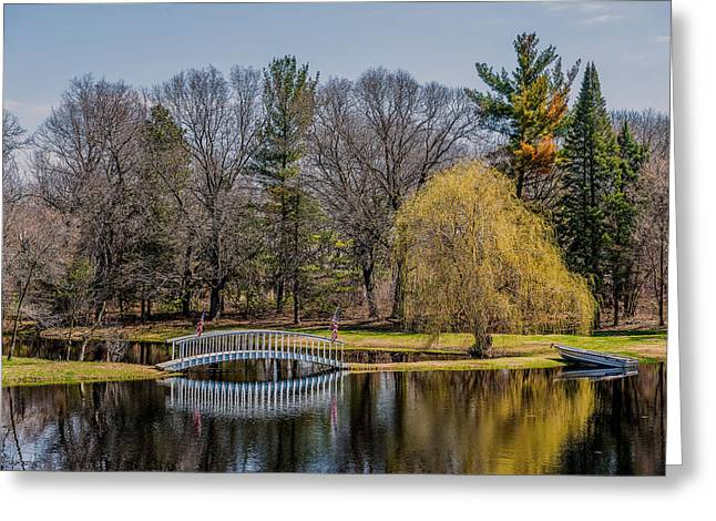Row Boat Greeting Cards - Spring Reflections Greeting Card by Paul Freidlund