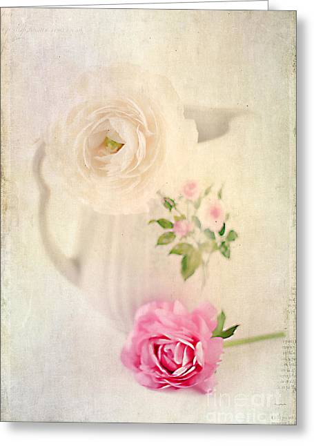 Old Pitcher Greeting Cards - Spring Romance Greeting Card by Darren Fisher