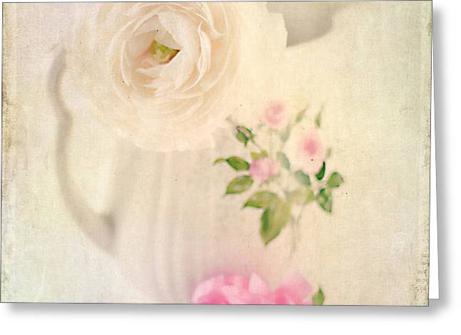 Spring Romance Greeting Card by Darren Fisher