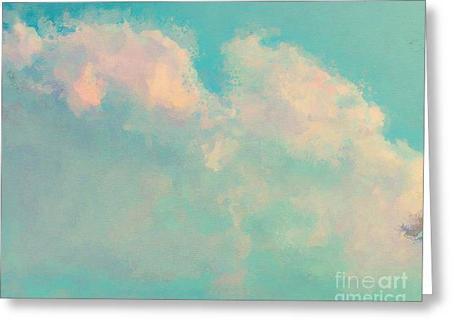 Spring Sky Greeting Card by Lonnie Christopher